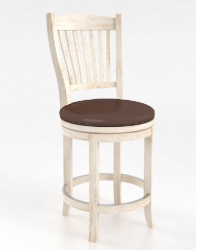 Bar Stool Sns 0 8232 Xc 92 A 24 Seat Bonded Leather Color Body Canadel Bar Stools34