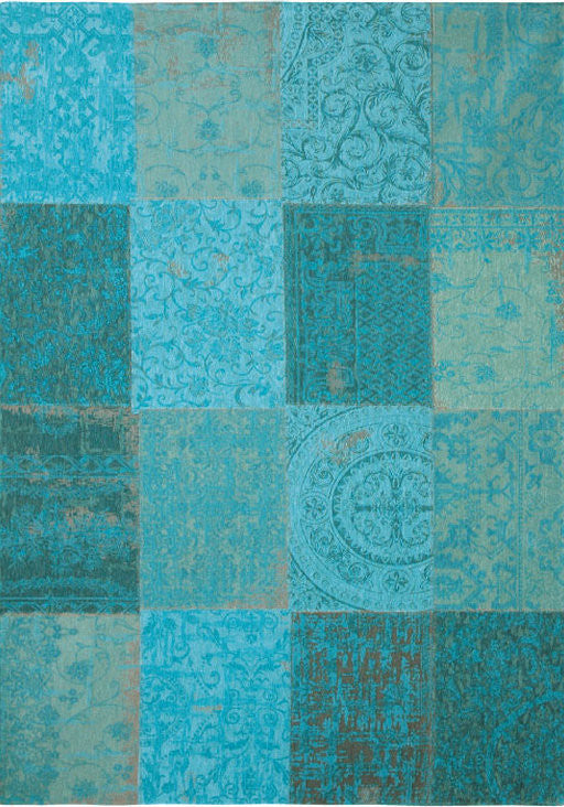 2X3 Vintage 8015 Rug Color Azure