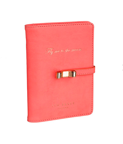 Ted Baker Coral Travel Document Holder