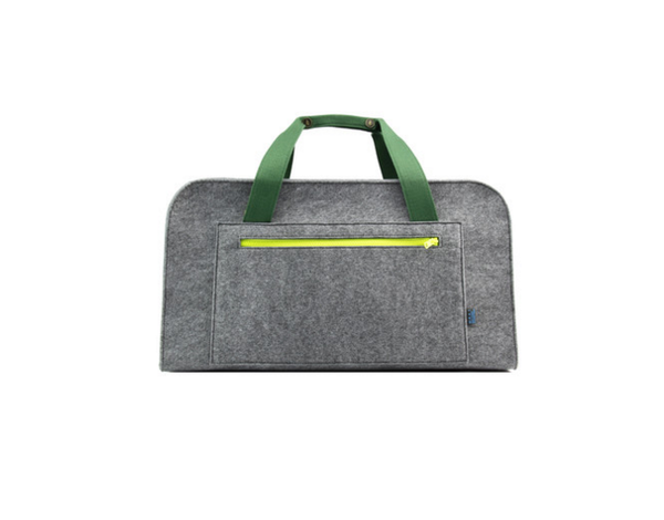 Weekender Elephant Bag Grey/Green