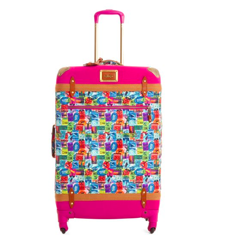 Around the World Wheeled Luggage - HELLO ADVENTURE