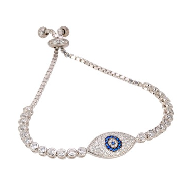 PAVÉ EYE TENNIS BRACELET