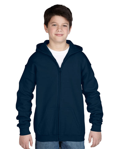 Full-Zip Hooded Fleece Jacket