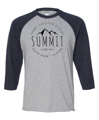 CLOSEOUT - Summit 3/4 Jersey - Navy