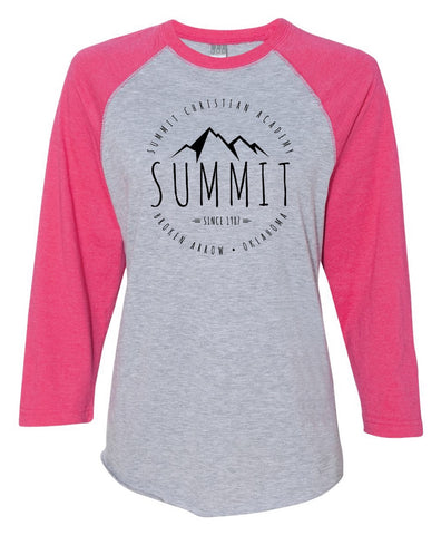 CLOSEOUT - Summit 3/4 Jersey - Pink