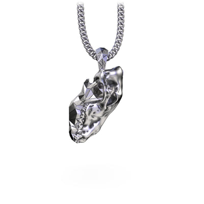 Necklaces - Wolf Skull Necklace