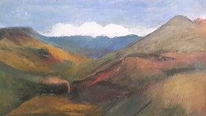Britain's Lake District painting (SOLD!)