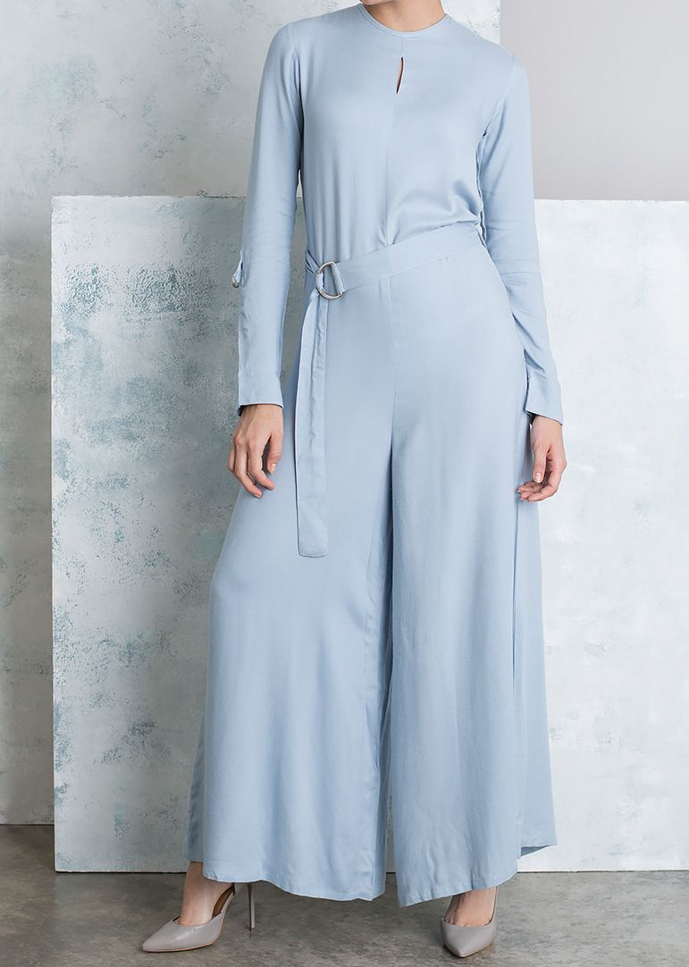 Stylish Light blue Jumpsuit from the Middle East!
