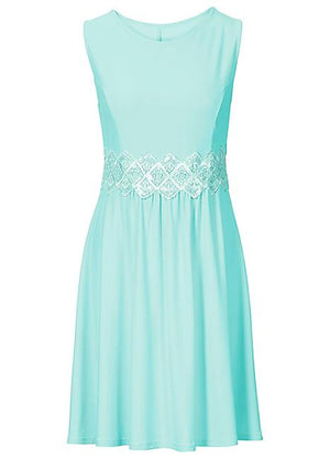 Glitter Lace trim dress