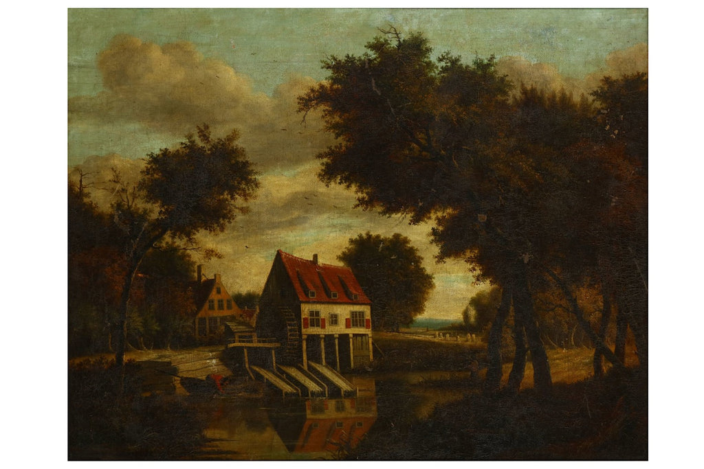 AUCTION! Old Masters: After Meindert Hobbema, Delivery in UK,The Netherlands, France, Belgium