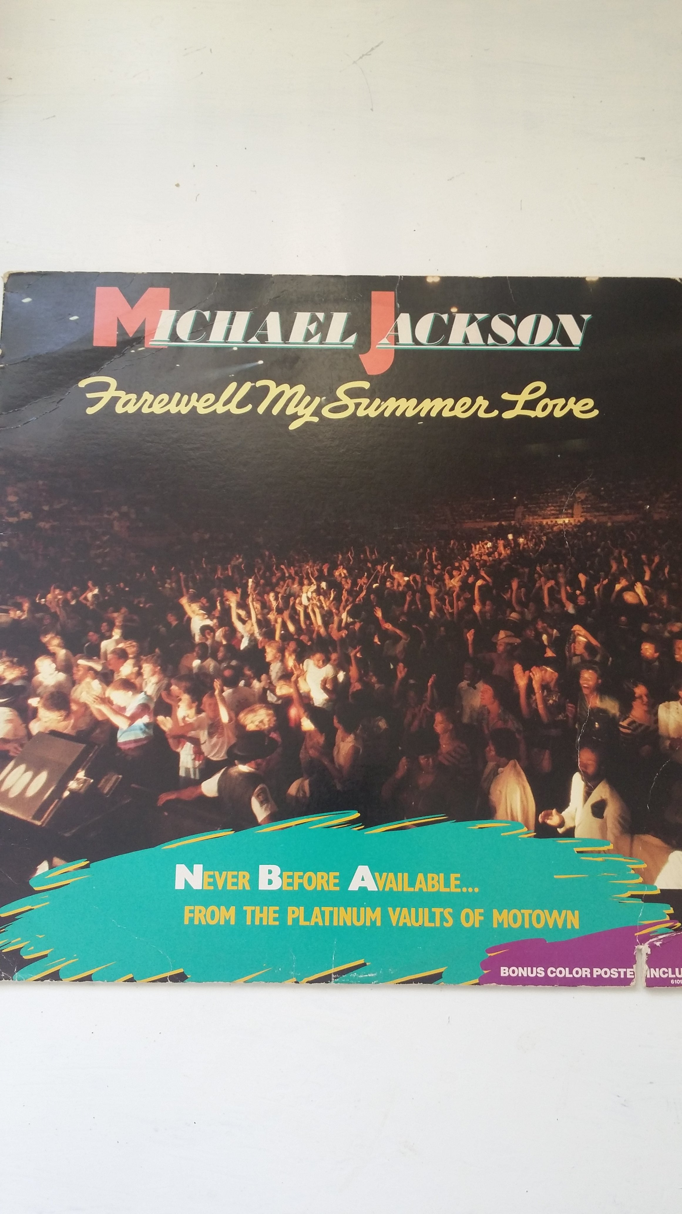 Vintage Vinyl:Michael Jackson, LP, Farewell my summer love. Worldwide delivery!