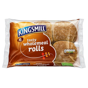 Kingsmill wholemeal rolls 6 pack