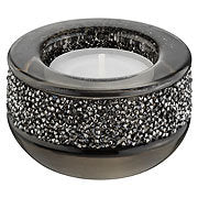 Tea light holders with hundreds of crystals! available in 6 colours