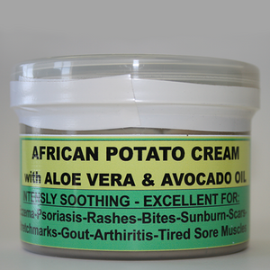 African Potato Cream;Relieves pain and various skin conditions!
