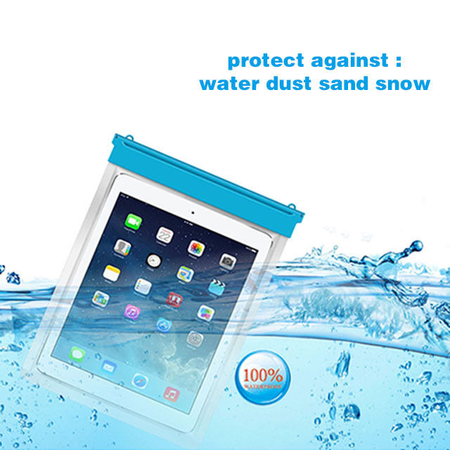 Waterproof Cover Pouch for Tablet iPad Smartphone in 3 Sizes