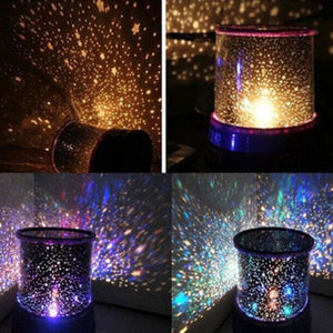 Projection night light for kids bedroom or yours!