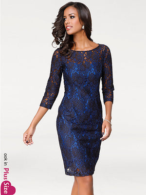 Blue Lace dress