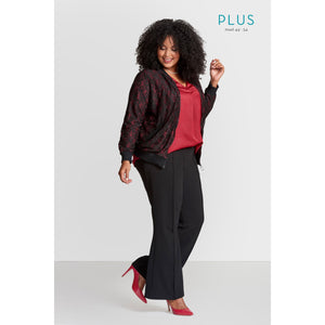New Women's Plus Size 3 piece black and red outfit!