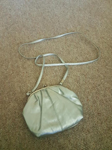 Silver girls handbag. Open to offers!(Sold!)