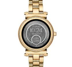 "Women""s Silver or Gold Tone Smartwatches!"