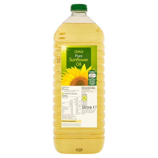 Pure Sunflower Oil 3L