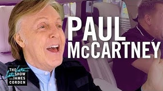 Paul McCartney Carpool Karoake video