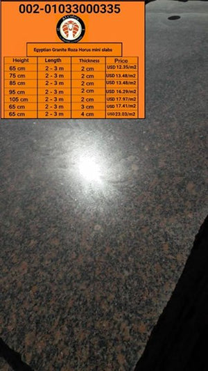 Egyptian Marble & Granite slabs, Direct Seller, Worldwide delivery