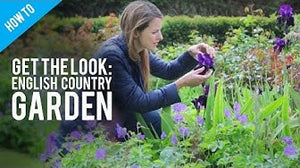 Video: Plants suggestions for an English Country Garden, Tutorial, England,UK