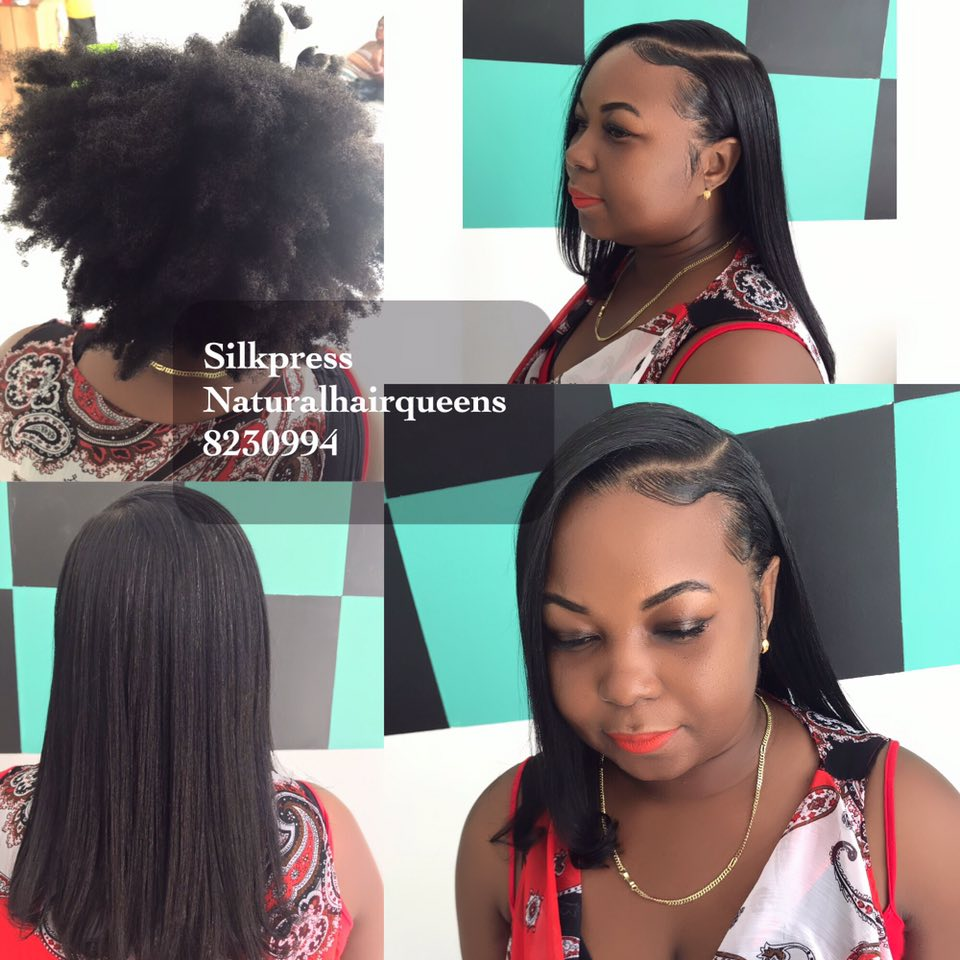 Silkpress treatments for Natural afro hair, Direct Seller, Suriname