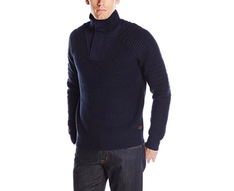 Scotch & Soda Navy Sweater