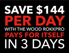 RoKK Tools - Wood RoKKpro - Save Money