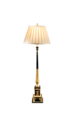 French Patinated and Gilt Bronze Floor Lamp - GEORGE V COLLECTION, Floor Lamp