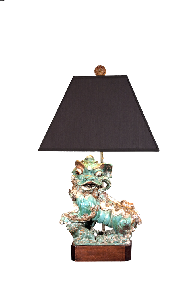 Foo Dog | 19th Century - GEORGE V COLLECTION, Table Lamp