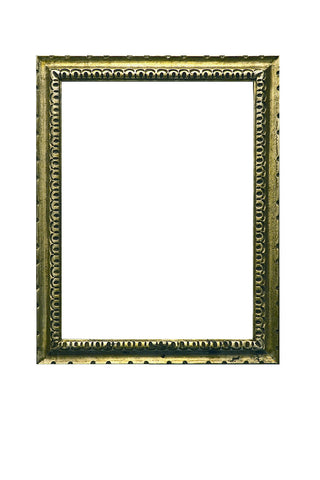 Gilded Wood Abstract Design Frame