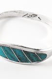 Inlaid Sterling Silver Turquoise Bracelet | Mark - GEORGE V COLLECTION, Jewelry
