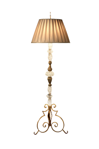 Master Blown French Floor Lamp