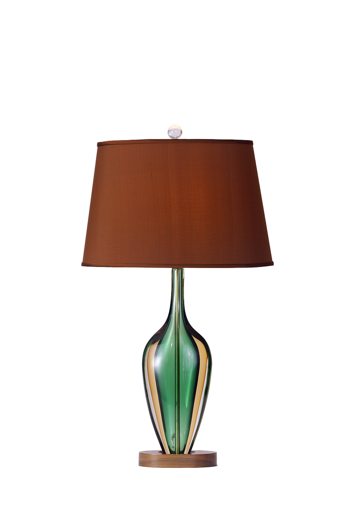 Murano Seguso Sommerso Lamp by Flavio Poli - GEORGE V COLLECTION, Table Lamp