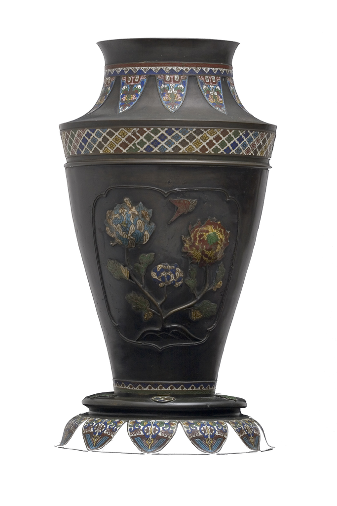 Colossal Bronze and Cloisonné Vase | Umbrella Stand | - GEORGE V COLLECTION, Accessories