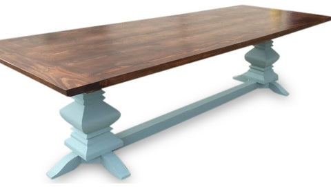 round fancy farm table onpoint wood design