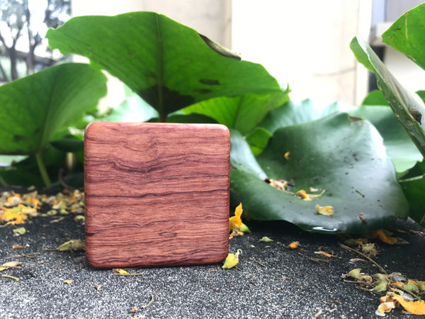 "The Highly Figured Bubinga Piccolo Box (~3.0"" x 3.0"" x 1.0"")"