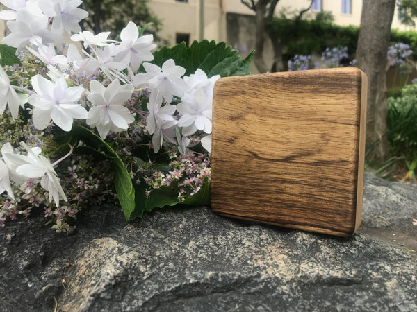 "The Black Limba Alto Box (~4.0"" x 4.0"" x 1.0"")"