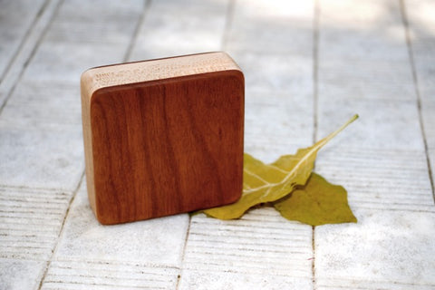 "The Cherry Piccolo Box Shaker (~3.0"" x 3.0"" x 1.0"")"