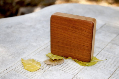 "The Cherry Alto Box Shaker (~4.0"" x 4.0"" x 1.0"")"