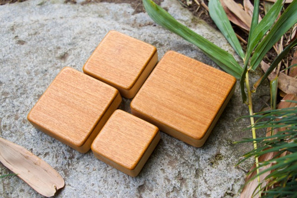 The Honduran Mahogany Box Shakers Complete - with a Free Case!