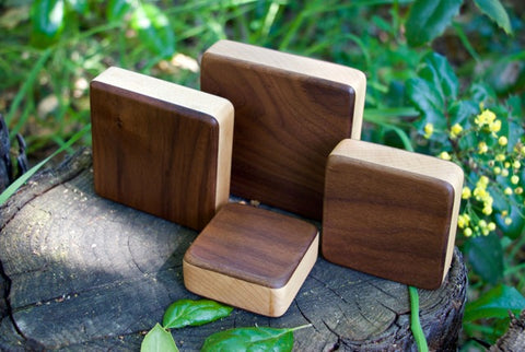The Walnut Box Shakers Complete - with a Free Case!