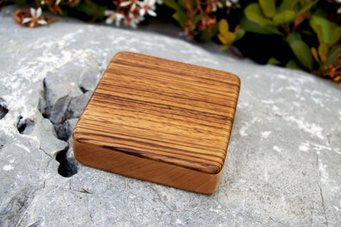 "The Zebra Alto Box Shaker (~4.0"" x 4.0"" x 1.0"")"