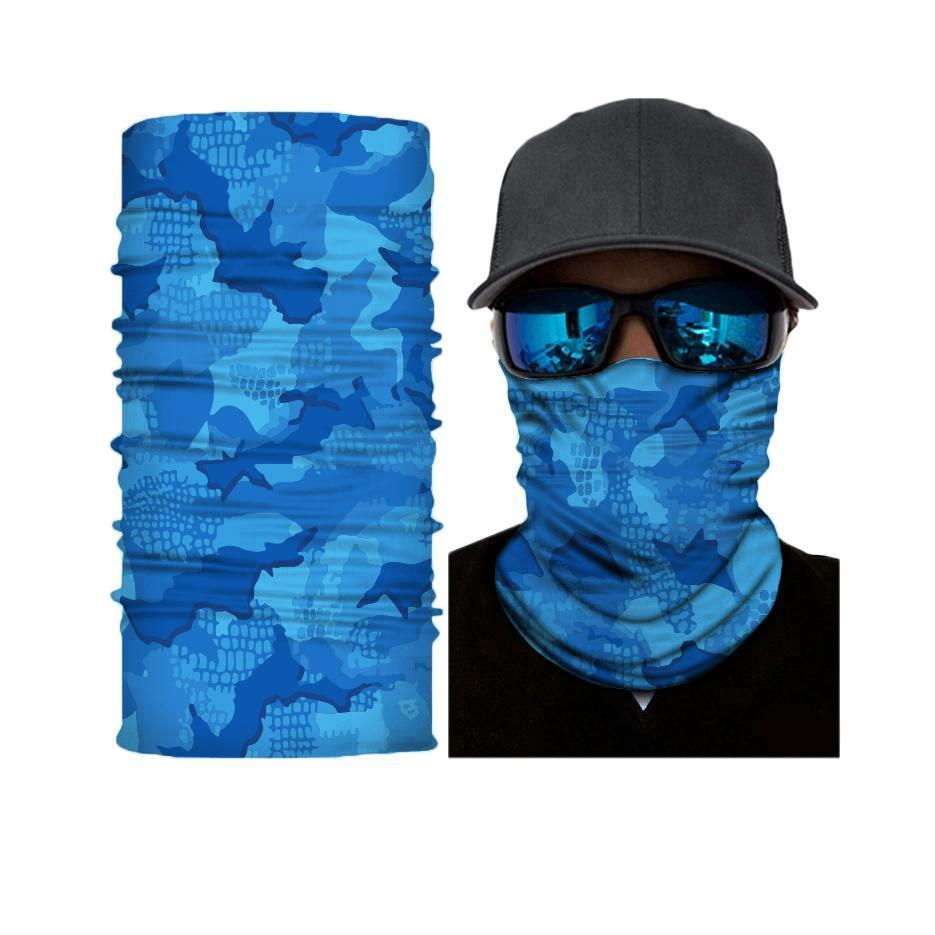 Ambush Water Camouflage Face Shield