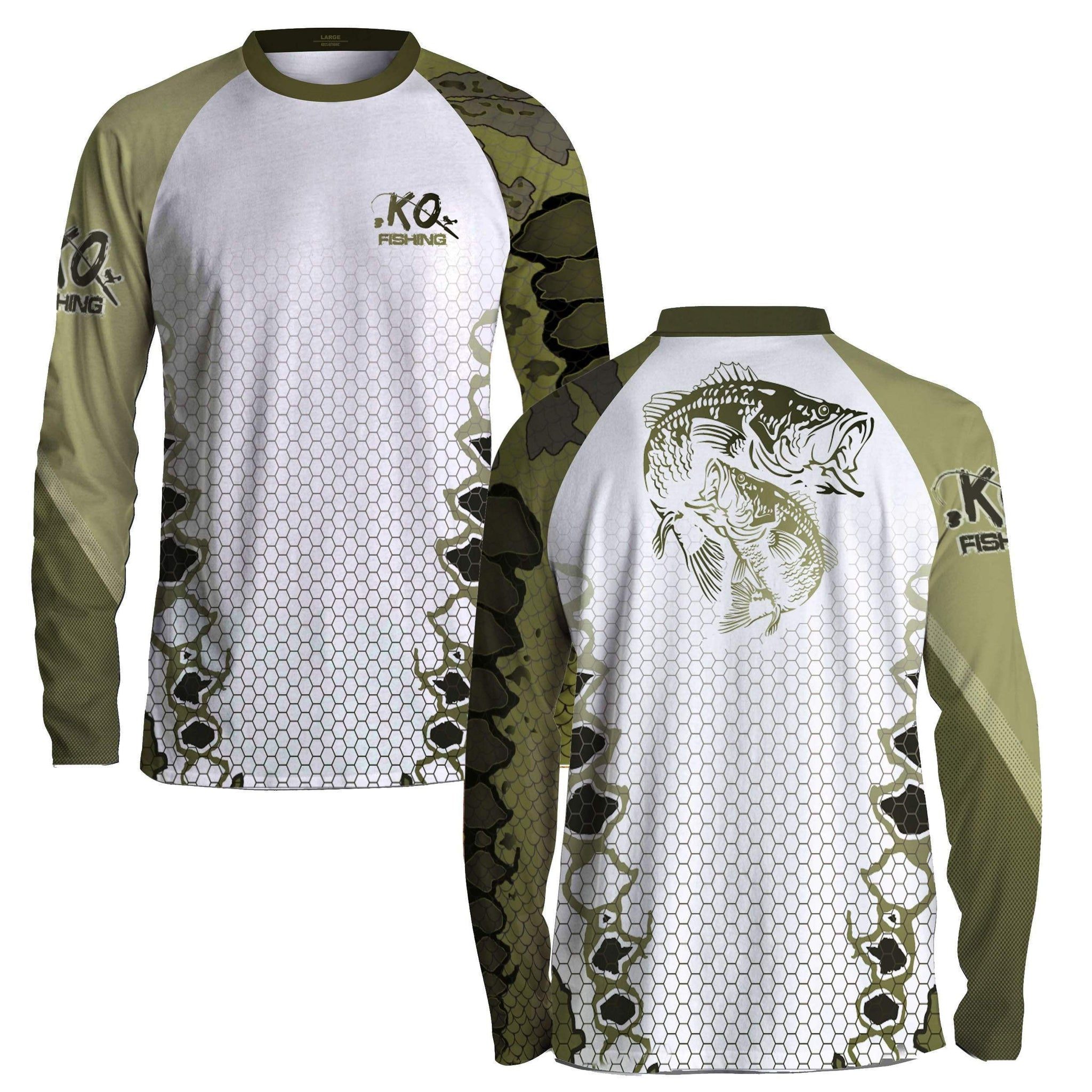 Products koss outdoors for Bass fishing tournament shirts