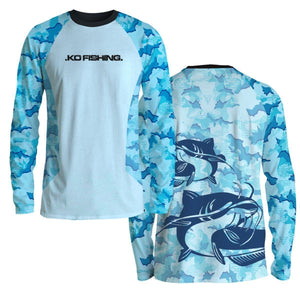 Catfish Ambush Fish Shirt Series - Long Sleeve