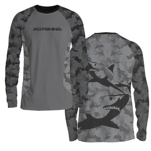 Shark Ambush Fish Shirt Series - Long Sleeve